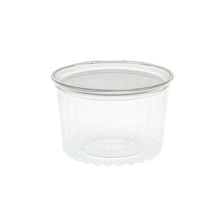 Sho-Bowl 460ml/16oz Flat Lid - Unipak