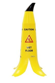 Filta Caution Sign - Banana 900mm