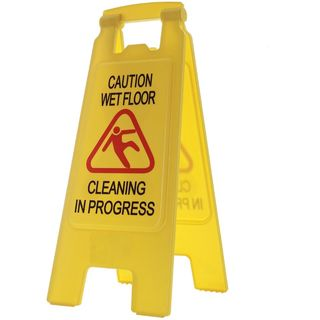 Filta Caution Wet Floor Sign