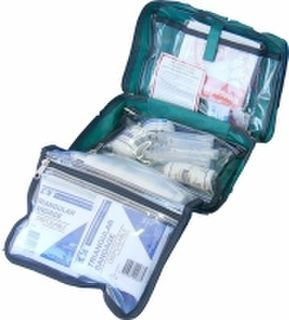 First Aid Kit for 1-5 people, soft bag