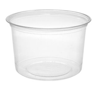 Deli Container Round 16oz Vegware - Pack or Carton