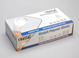 Polymer Gloves - Powder Free - Coastal