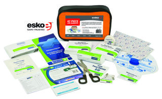 First Aid Kit 42 piece General - Esko
