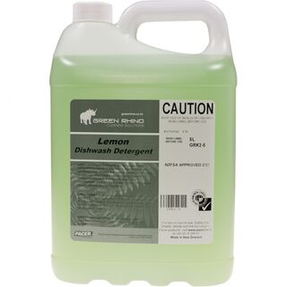 Dishwashing Detergent Lemon - Green Rhino