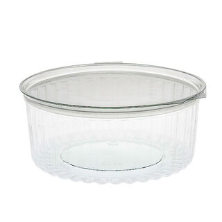 Sho-Bowl 1270ml/48oz Flat Lid - Unipak