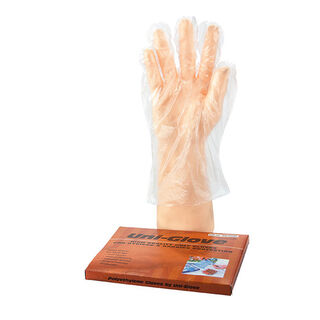 PE Clear Medium Gloves - Uni-Glove