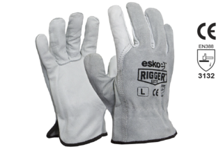 Leather Rigger Glove Premium Split - Esko The Rigger