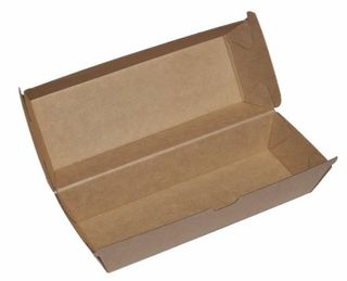 Kraft Hot Dog Box - Dividable - Ecoware