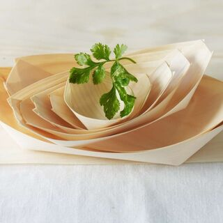 Wooden Boat Dish Medium - Epicure