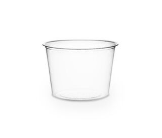 Portion Pot 4oz/118ml PLA - Vegware - Pack or Carton