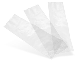 NatureFlex clear bag 7 x 21cm - Vegware