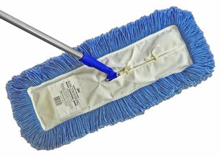 Edco Dust Control Mop Medium (61X15cm) Complete With Head And Handle - Edco