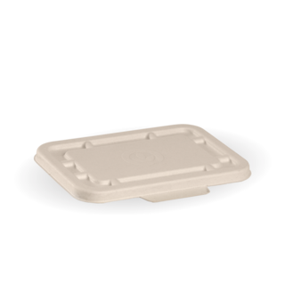 500ml & 600ml Natural BioCane Takeaway Lid - BioPak