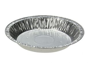 Deep Family Foil Pie Dish - Perforated - Uni-Foil