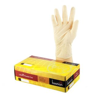 Bastion Latex Powderfree Gloves - UniPak