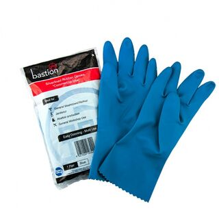 Bastion Silverline Blue Small Gloves - UniPak