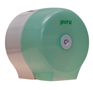 Dispenser for Jumbo Rolls Single Green - Premier Hygiene