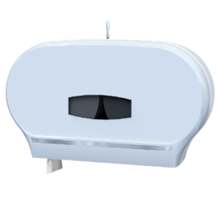 Dispenser for Jumbo Rolls Double White - Premier Hygiene