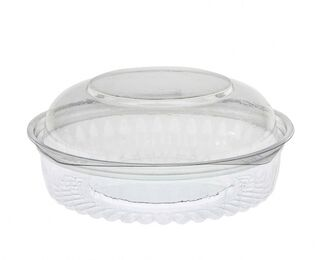 Sho-Bowl 550ml/20oz Dome Lid - Unipak