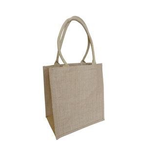 Laminated Supermarket Shopper Bag NATURAL - Ecobags