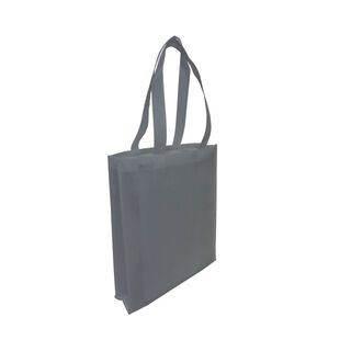 Tote with Gusset - GREY - Ecobags
