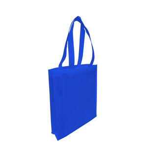 Tote with Gusset - ROYAL BLUE - Ecobags