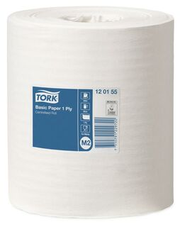 Tork 120155 Basic Paper Centrefeed 1 Ply M2 - Winc