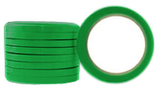 Coloured OOP Rubber Vegetable Bundling Tape 18mm - Pomona