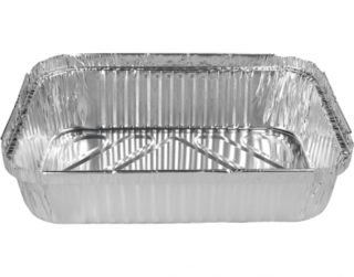 Extra Large Rectangular Catering Containers, Deep 3000 ml - Castaway