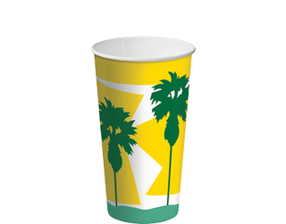 16oz Daintree' Paper Thickshake Cup