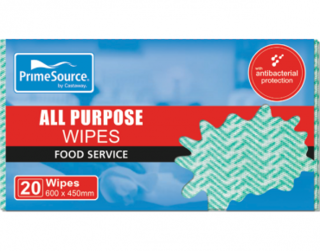 PrimeSource' All Purpose Wipes, Green - Castaway