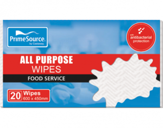 PrimeSource' All Purpose Wipes, White - Castaway