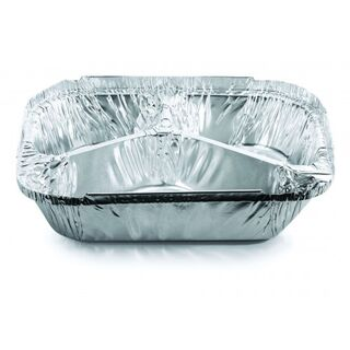 Deep 3 Part Meal Tray (ctn 500) - Confoil
