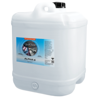 Alpha-6 - Liquid Bleach 20L - Qualchem