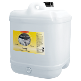Fury Chlorinated Caustic Cleaner 20L - Qualchem