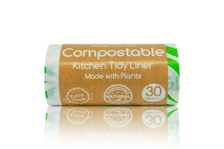 27L Kitchen Tidy Liner Compostable 30s - Better Future