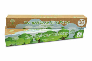 Cling wrap Compostable 300mm x 30m - Better Future