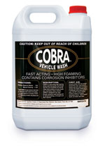 Car Wash - 5 Litres - Cobra Black