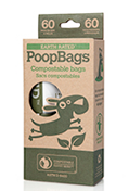 Dog Waste Bags Composable Carton - Earth Rated EcoBags