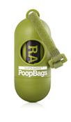 Dog Waste Bags Carry Container - Earth Rated EcoBags