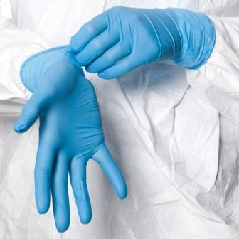 Nitrile Gloves - Powdered - Med-X brand