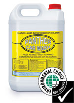Panther Vehicle Wash 20L - Qualchem