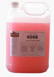 Soap (hand) Rose - 5ltr - Natural Choice