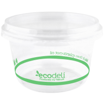 Deli Containers 700ml PLA - Ecoware