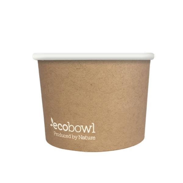 8oz Ecobowl - Soup/Icecream - Ecoware