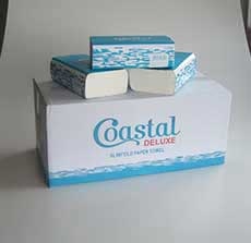 Paper Towel Slimfold Deluxe - Coastal