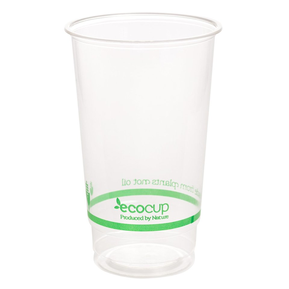 700ml Clear Cold Cup PLA - Ecoware