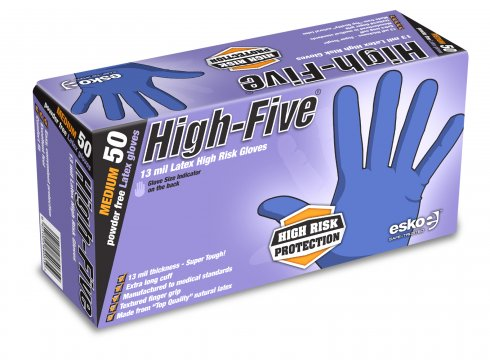 High Risk Gloves PowderFree - High Five