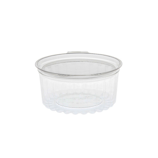 Sho-Bowl 375ml/12oz Flat Lid - Unipak
