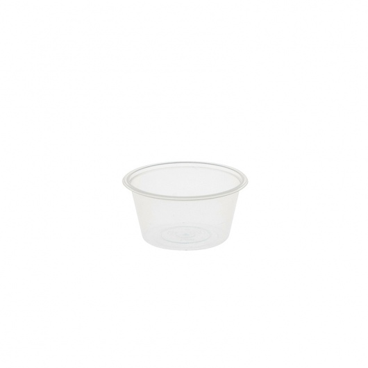 Round Container 50ml/2oz PP - Uni-Chef